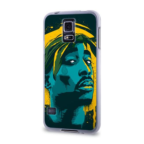 Чехол для Samsung Galaxy S5 силиконовый  Фото 03, 2pac