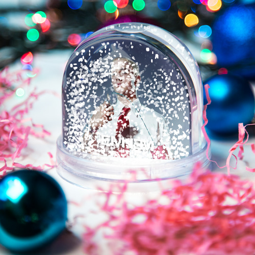 Водяной шар со снегом  Фото 04, Eminem