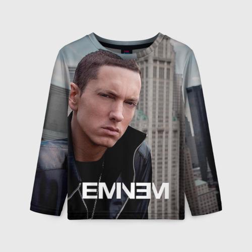 Детский лонгслив 3D Eminem