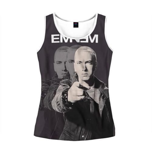 Женская майка 3D  Фото 01, Eminem