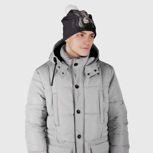 Шапка 3D c помпоном  Фото 02, Eminem