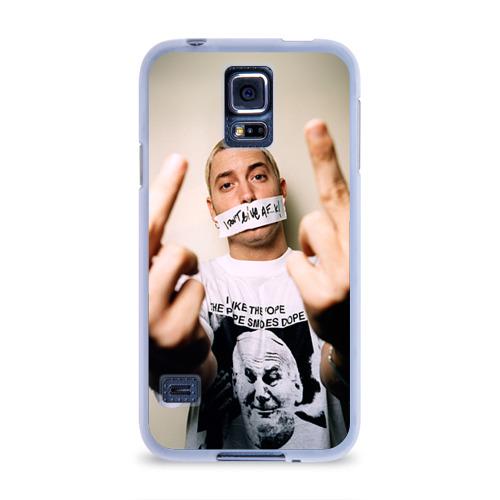 Чехол для Samsung Galaxy S5 силиконовый  Фото 01, Eminem