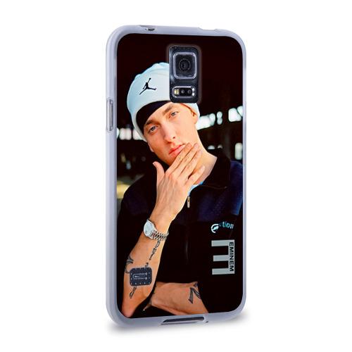 Чехол для Samsung Galaxy S5 силиконовый  Фото 02, Eminem