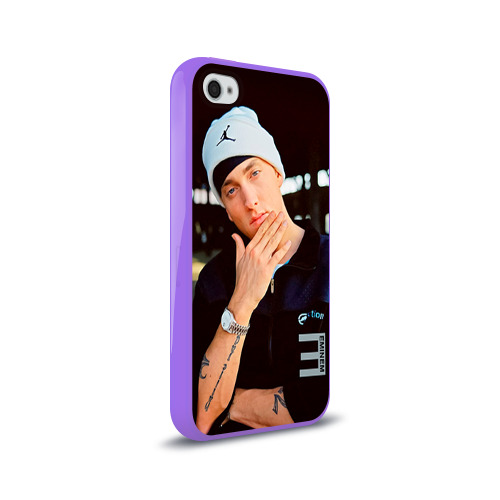 Чехол для Apple iPhone 4/4S силиконовый глянцевый  Фото 02, Eminem