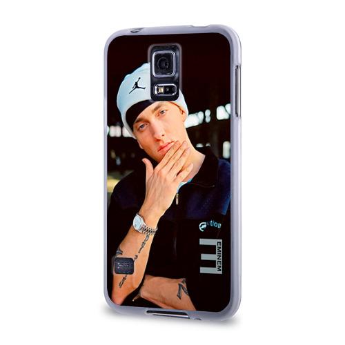 Чехол для Samsung Galaxy S5 силиконовый  Фото 03, Eminem