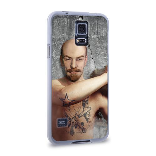 Чехол для Samsung Galaxy S5 силиконовый  Фото 02, Ленин уголовник