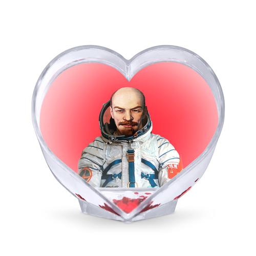 Сувенир Сердце Сувенир Сердце Ленин космонавт от Всемайки