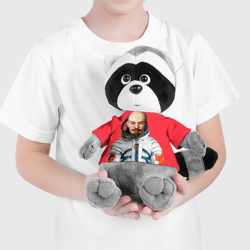 Енотик в футболке 3D  Фото 04, Ленин космонавт