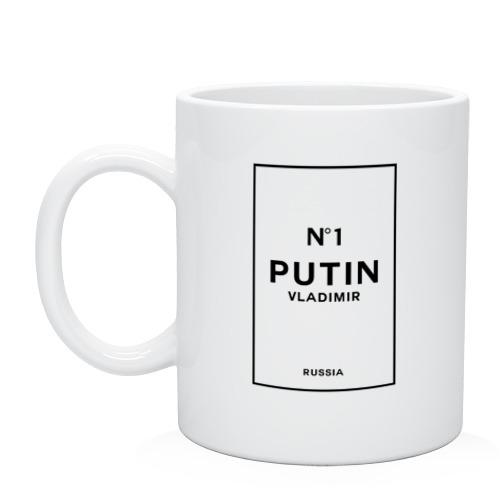 Кружка Putin Chanel N1 от Всемайки