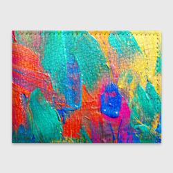 Абстракция красок