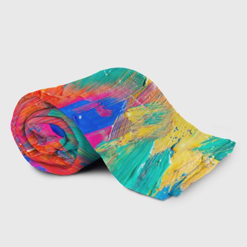 Плед 3D Абстракция красок