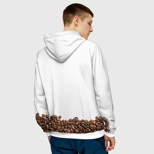 Мужская толстовка 3D Сова из кофе Фото 01