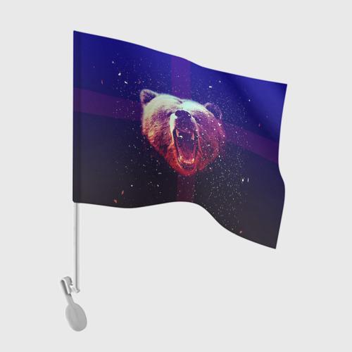 Флаг для автомобиля BearRoarrr Фото 01