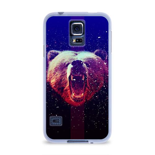 Чехол для Samsung Galaxy S5 силиконовый  Фото 01, BearRoarrr