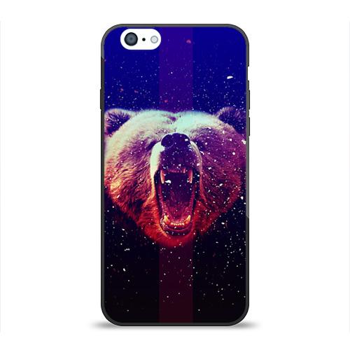 Чехол для Apple iPhone 6 силиконовый глянцевый BearRoarrr от Всемайки