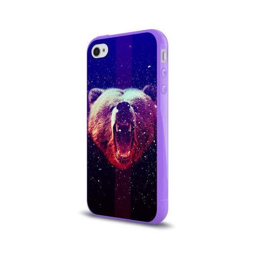 Чехол для Apple iPhone 4/4S силиконовый глянцевый  Фото 03, BearRoarrr