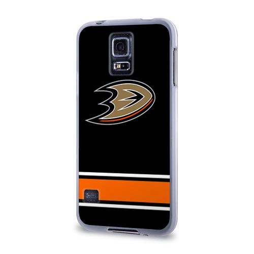 Чехол для Samsung Galaxy S5 силиконовый  Фото 03, Anaheim Ducks Selanne