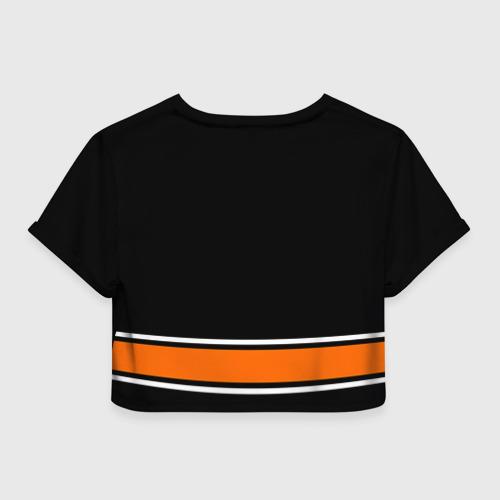 Женская футболка Crop-top 3D Anaheim Ducks Selanne Фото 01