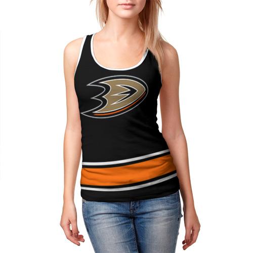Женская майка 3D  Фото 03, Anaheim Ducks Selanne
