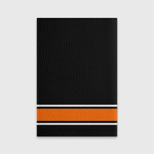 Обложка для паспорта матовая кожа Anaheim Ducks Selanne Фото 01
