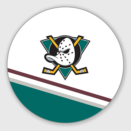 Коврик для мышки круглый Anaheim Ducks Selanne Фото 01