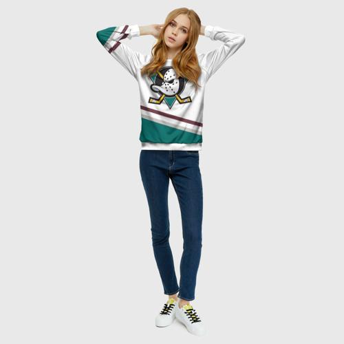 Женский свитшот 3D Anaheim Ducks Selanne