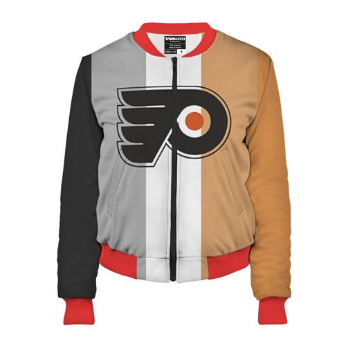 Женский бомбер 3D Philadelphia Flyers