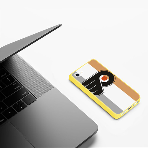 Чехол для iPhone 5/5S матовый Philadelphia Flyers Фото 01
