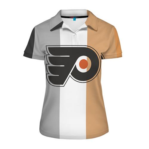 Женская рубашка поло 3D Philadelphia Flyers