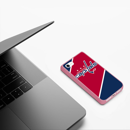 Чехол для iPhone 5/5S матовый Washington capitals Фото 01
