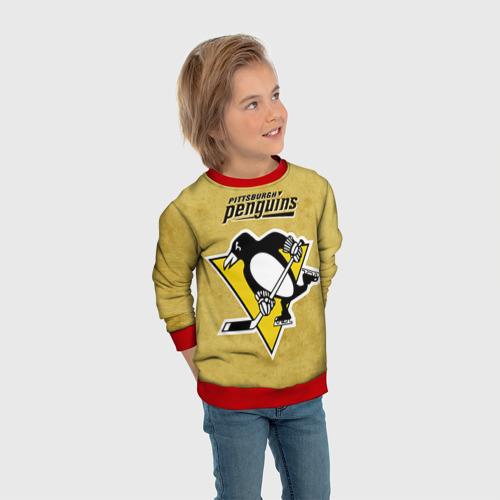 Детский свитшот 3D Pittsburgh Pinguins Фото 01