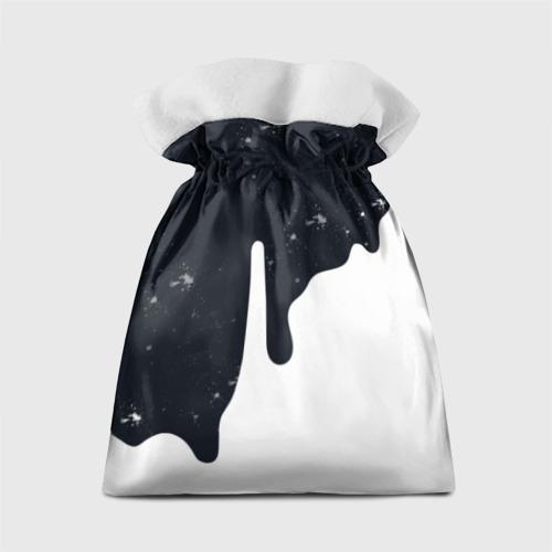 Подарочный 3D мешок Черно-белый Фото 01