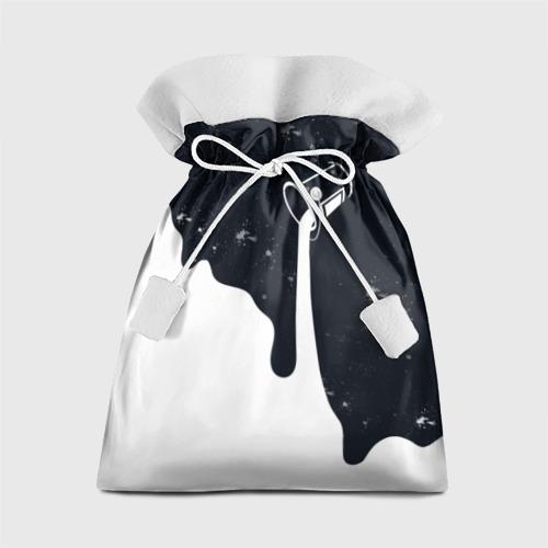 Подарочный 3D мешок Черно-белый