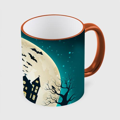 Кружка с полной запечаткой  Фото 01, Хэллоуин. Замок