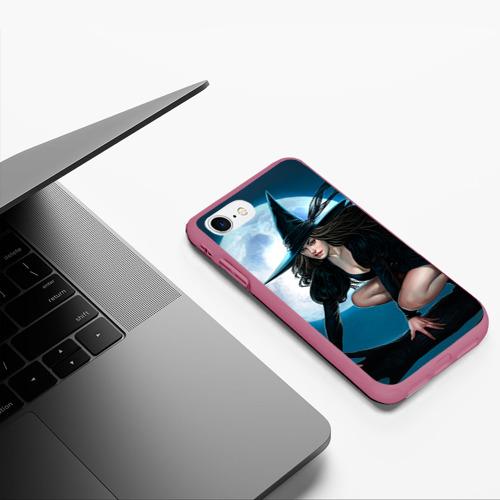 Чехол для iPhone 7/8 матовый Ведьма Фото 01