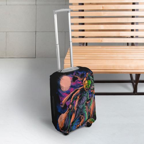 Чехол для чемодана 3D  Фото 03, Хэллоуин