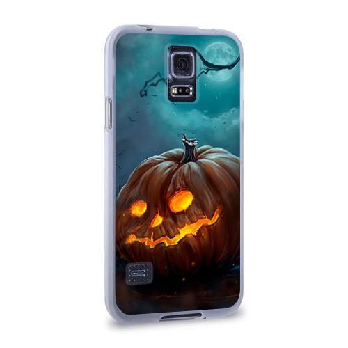 Чехол для Samsung Galaxy S5 силиконовый  Фото 02, Тыква