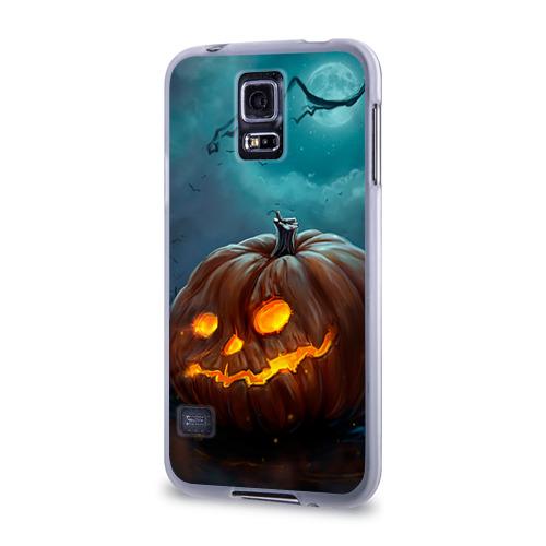 Чехол для Samsung Galaxy S5 силиконовый  Фото 03, Тыква