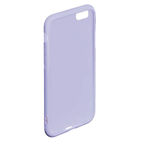 Чехол для iPhone 6Plus/6S Plus матовый Девушка. Сахарный череп Фото 01
