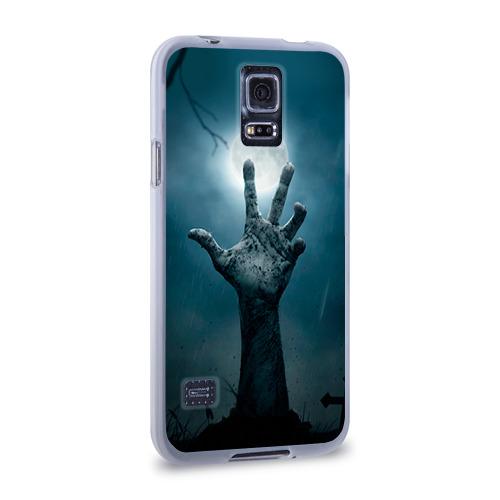 Чехол для Samsung Galaxy S5 силиконовый  Фото 02, Рука