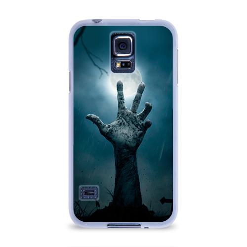 Чехол для Samsung Galaxy S5 силиконовый  Фото 01, Рука