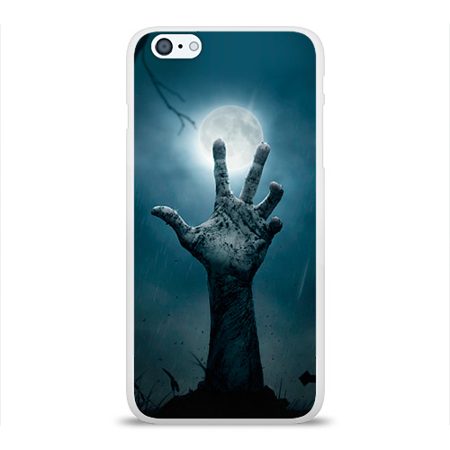 Чехол для Apple iPhone 6Plus/6SPlus силиконовый глянцевый  Фото 01, Рука