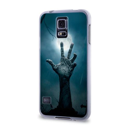 Чехол для Samsung Galaxy S5 силиконовый  Фото 03, Рука