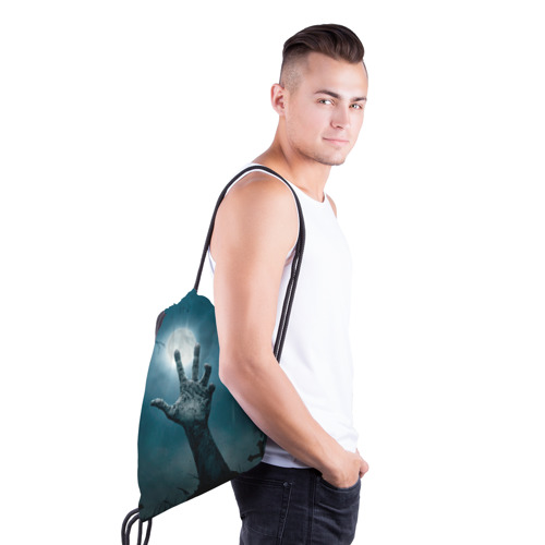 Рюкзак-мешок 3D  Фото 03, Рука