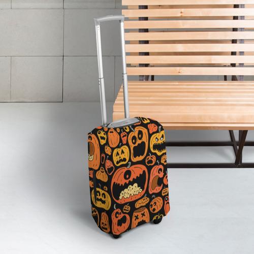 Чехол для чемодана 3D  Фото 03, Тыковки