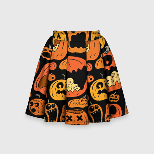 Детская юбка-солнце 3D Тыковки