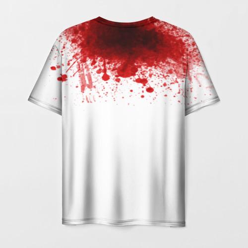 Мужская футболка 3D Кровь Фото 01