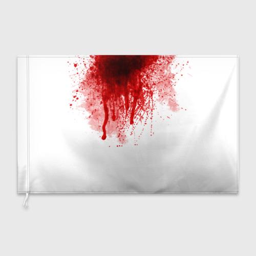Флаг 3D  Фото 03, Кровь