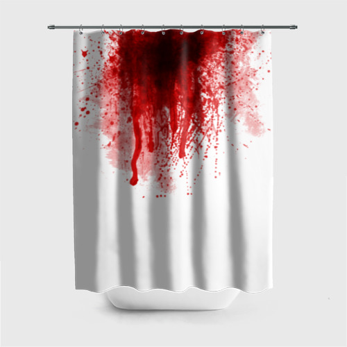 Штора для ванной Кровь от Всемайки