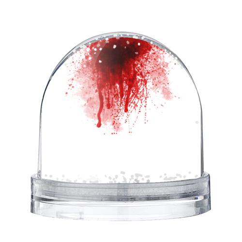 Водяной шар со снегом Кровь